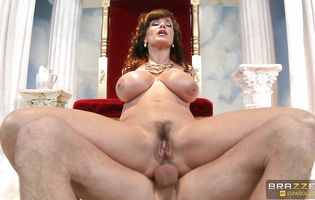 Elegant Lisa Ann is being pounded in her ass by boyfriend in many different positions