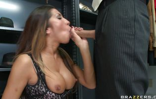 Aphrodisiac Kayla Carrera likes to have anal sex with dude