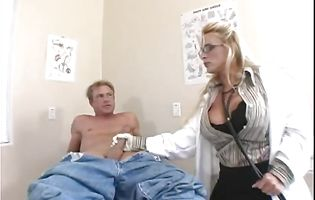 Sexy blonde Holly Halston loves being tongue ass fucked hard