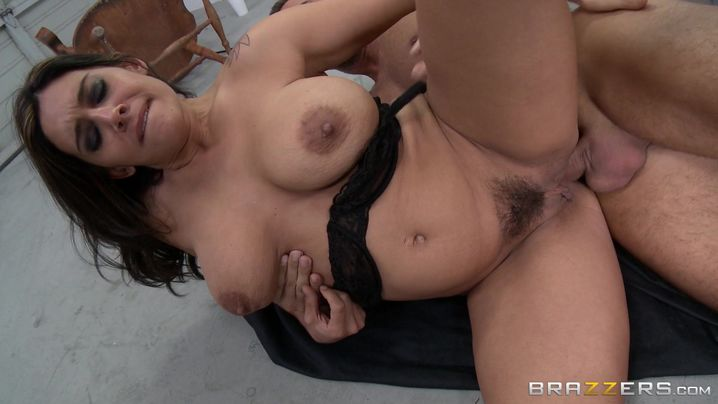 Engaging latina Raylene is fingering her tight ass and getting stuffed the way she always wanted