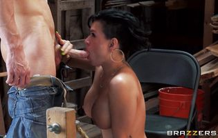 Passionate Eva Angelina has an perfect butt made for fucking hard