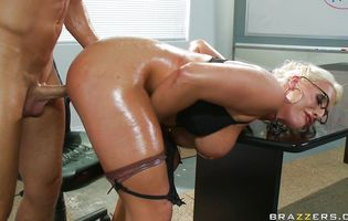Worshipped Sadie Swede gets her eager butt plowed like there's no tomorrow