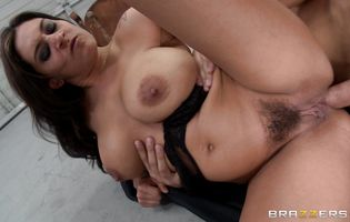 Milfs Like It Big - Naked latina brunette cutie Raylene gets her ass drilled