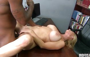 Prurient Totaly Tabitha shows just how much she enjoys having her bum screwed