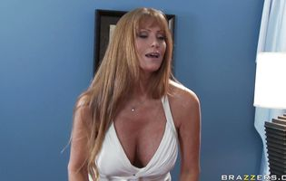 Sex appeal gf Darla Crane with big tits is butt fucked like a bitch