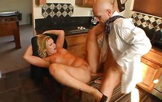 Heavenly girlfriend Flower Tucci with massive natural tits is always in the mood to spread her legs wide and get ass fucked good