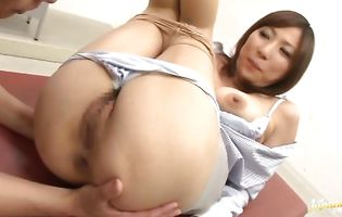 Stunning idol and stranger are about to have steamy anal sex