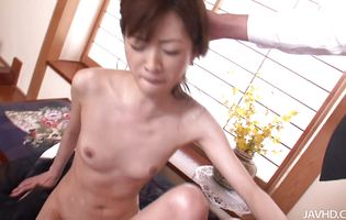 Darling Kanon Hanai is having steamy anal sex with guy