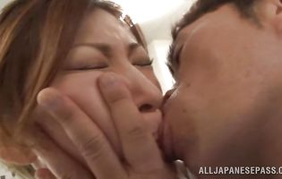 Pretty japanese Reira Aisaki got anal fucked and enjoyed it more than usual
