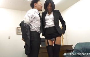 Luxurious Uta Kohaku is getting bum fucked and moaning from pleasure while having an intense orgasm