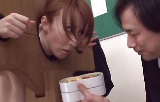 Remarkable diva Reiko Sawamura begs mate to shove his donga up her booty
