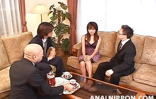 Hot-tempered gal Itsuka butt fucked guy just for fun