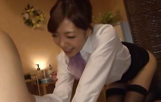 Pungent Shizuka Kanno is bum fucked like a common whore